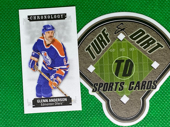2018-19 Chronology Time Capsules Canvas Mini #M113 Glenn Anderson 47/60