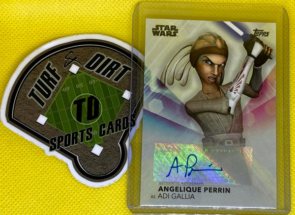 2020 Women of Star Wars Autographs #AAP Angelique Perrin as Adi Gallia