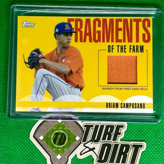 2020 Topps Pro Debut Fragments of the Farm Relics #FFFDF Briam Campusano
