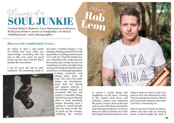Untamed Soul Magazine Column