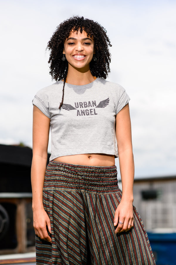 Urban Angel Cropped T-Shirt