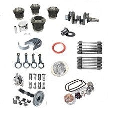 VW 1600 Based Type 1, 2 And 3 Engine Rebuild Kit 1776 Regrind