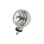 VW Baja Bug Off Road Chrome Lights 4, 5 Or 6 Inch Round H3 12 Volt Lights