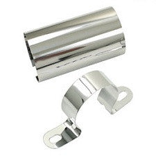 VW 1600 Based Type 1 And 2 Coil Clamps, Chrome Plated Or Polished Aluminum