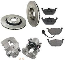 VW Jetta, Golf And New Beetle Front Disc Brake Kit