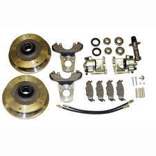 VW Bug And Ghia 1958 to 1965 Front Disc Brake Kit Link pin VW Wide 5 On 205 Pattern Bolt On