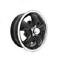 VW Black, Silver Or Chrome 5 Spoke 5 Lug Pattern Wheels