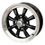 VW Black, Silver Or Chrome 8 Spoke 4 Lug Pattern Wheels