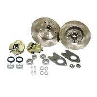 VW Bug And Ghia 1958 to 1965 Front Disc Brake Kit Link Pin VW 4 Lug, Porsche And Chevy Patterns Bolt On