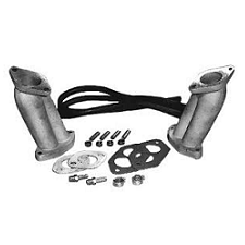 VW 1600 Based Type 1 And 2 Dual Port Kadron Intake Manifold Kit