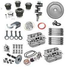 VW 1600 Based Type 1, 2 And 3 Engine Complete Rebuild Kit 1600 New