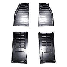 VW Bug, Super Beetle And Convertible Floor Quarter Pans