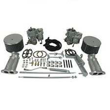 VW Bug, Super Beetle, Ghia And Thing Type 1 And 2 Dual 40 Or 44 Kadron Carburetor Kits