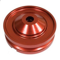VW 1600 Based 12 Volt Type 1 And 2 Generator or Alternator Pulley Billet Aluminum Polished, Black, Red, Blue