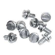 VW 1600 Based Chrome Engine Shroud Tin Sheet Metal Screws Stock With Washer Or Stainless Button Head