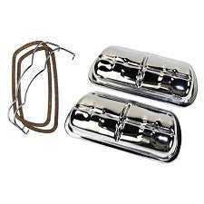 VW 1600 Based Type 1, 2 And 3 Valve Covers Stock Style Chrome, Aluminum Or Stainless Steel