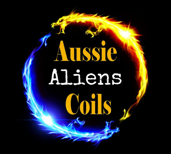 Aussie Coils - 3 Core Aliens Set of x2 Coils