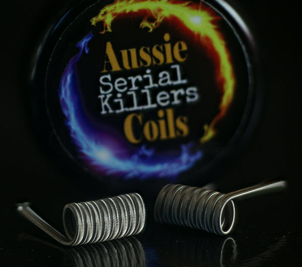 Aussie Coils - 3 Core Serial Killers Set of x2 Coils