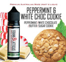 Peppermint & White Choc Cookie