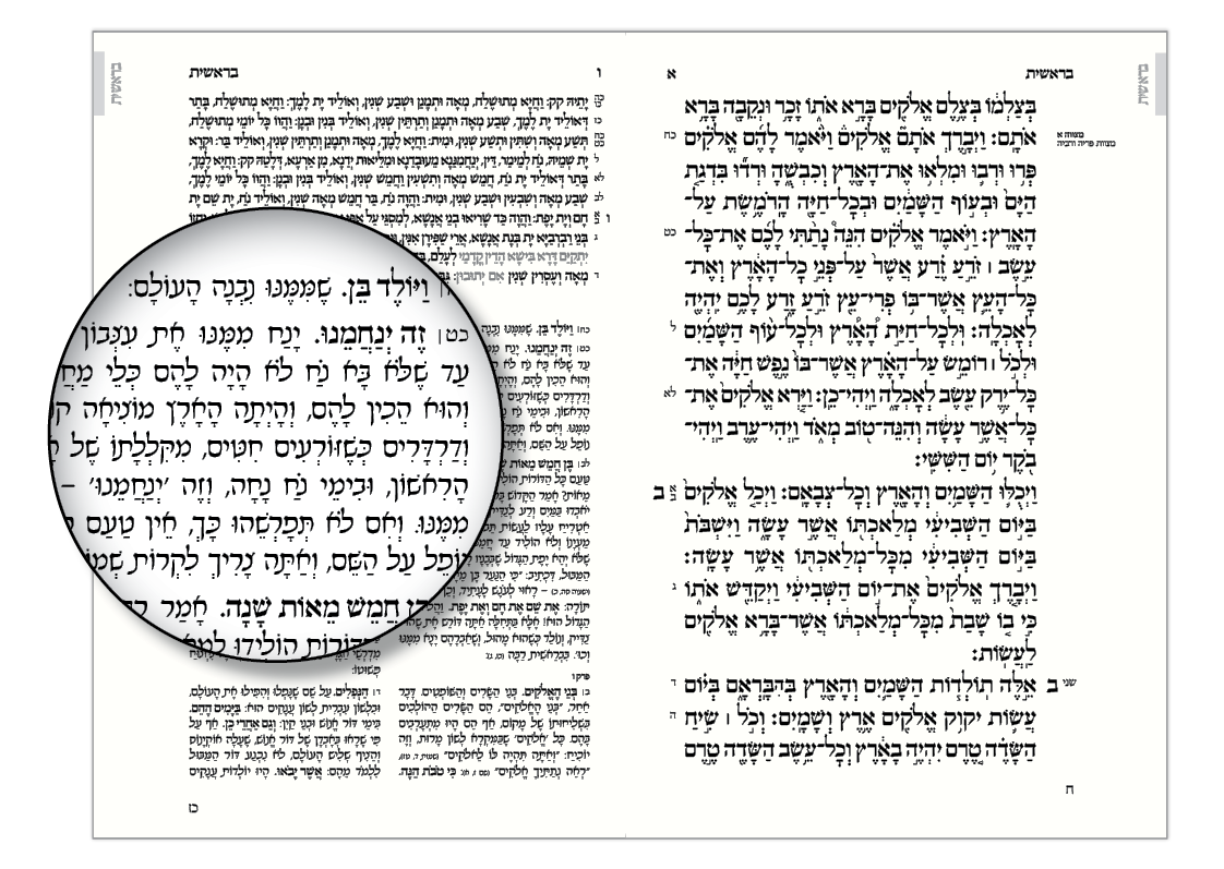 Rashi Font: A Study in Honor of Rashi's Yahrzeit