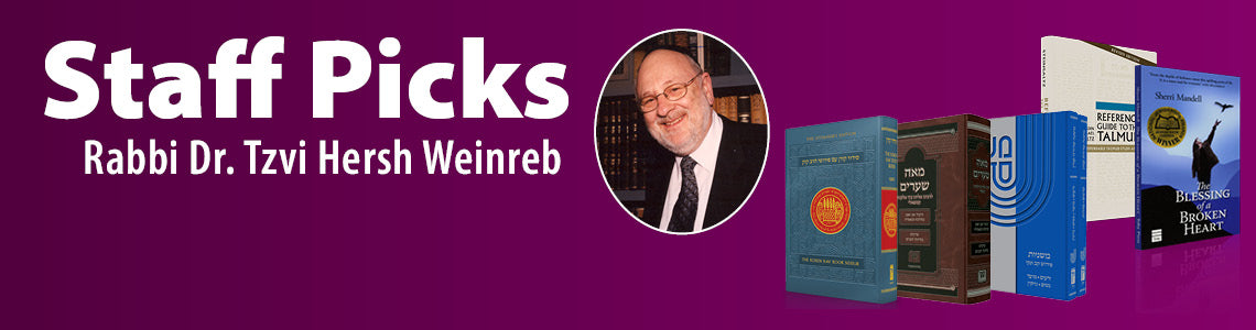 Staff picks Rabbi weinreb3