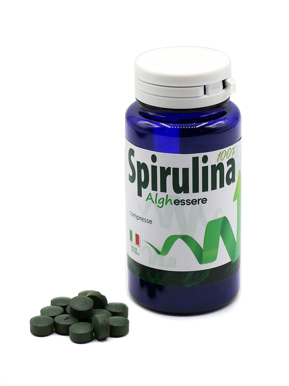 SPIRULINA BIOLOGICA ITALIANA 500mg - 100 compresse