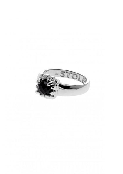 Stolen | Baby Claw Ring - Onyx
