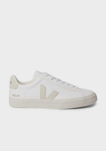 Veja | Campo Chromefree Leather - White/Natural Suede