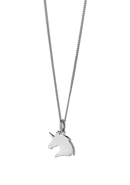 Karen Walker | Mini Unicorn Necklace 45cm - Sterling Silver