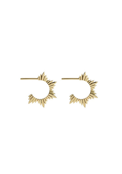 Meadowlark | Maiden Hoop Earring Medium - Gold Plated