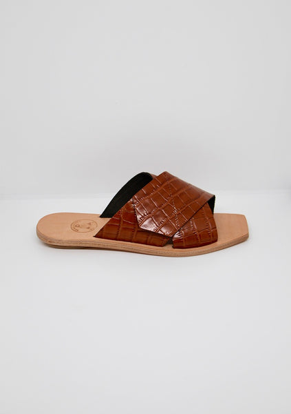 Beau Coops | Lisette - Brown Crocco