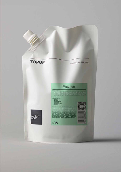 Ashley & Co | Topup Washup - Vine Paisley 1 Litre