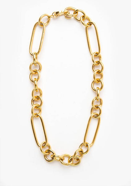 Flash Jewellery | Leisure Chain Necklace - 14k Gold Vermeil