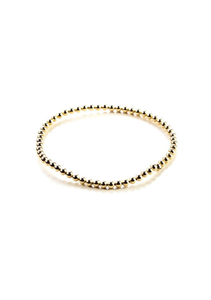 Dane | Gold Bead Bracelet