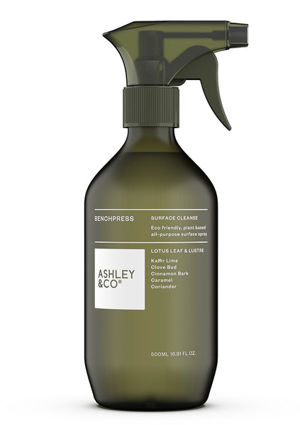 Ashley & Co | Benchpress  Surface Cleanse - Lotus Leaf & Lustre