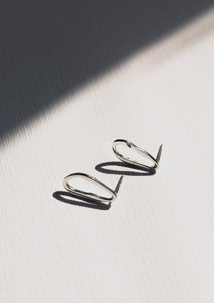 Jasmin Sparrow | Francoise Earrings - Silver
