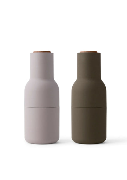 Menu | Salt and Pepper Grinders - Hunting Green/Beige