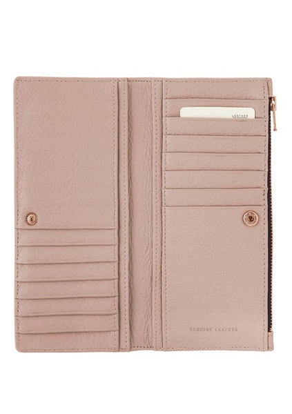 Status Anxiety | In The Beginning Wallet - Dusty Pink