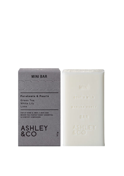 Ashley & Co | Mini Bar - Parakeets & Pearls
