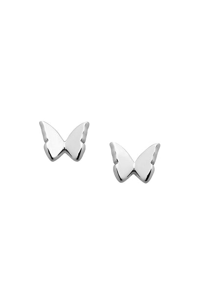 Karen Walker | Mini Butterfly Studs - Sterling Silver
