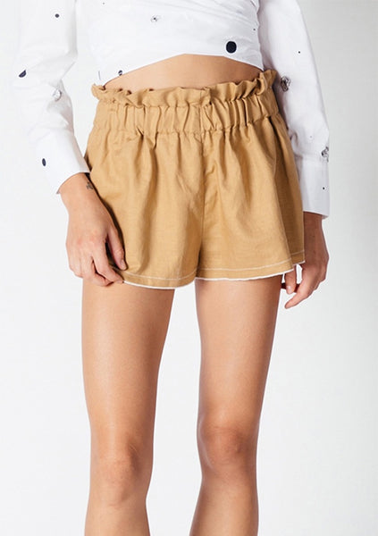 Interval | Casa Short - Ochre