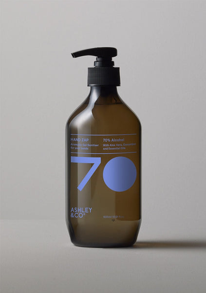 Ashley & Co | Zap Hand Sanitiser - Peppy & Lucent 500ml