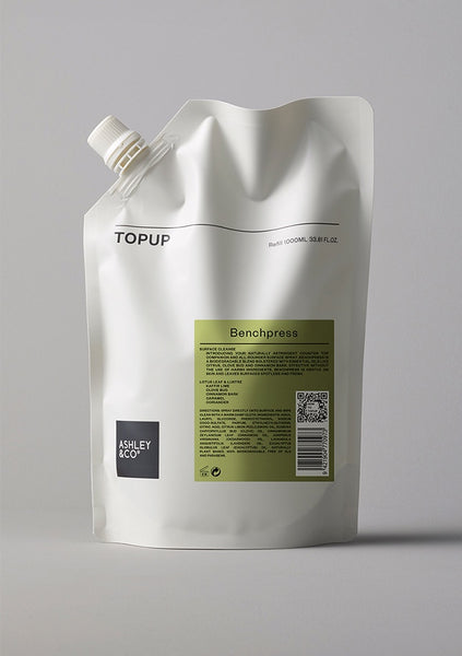 Ashley & Co | TopUp Bench Press - Surface Cleaner