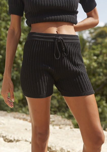 Rue Stiic | Evy Knit Short - Black