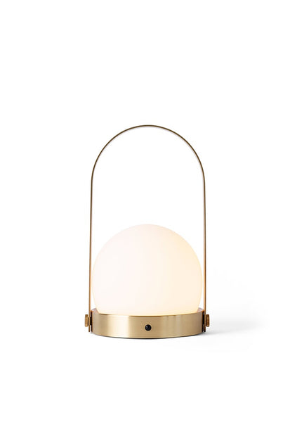 Menu | Carrie LED Lamp - Brushed Brass