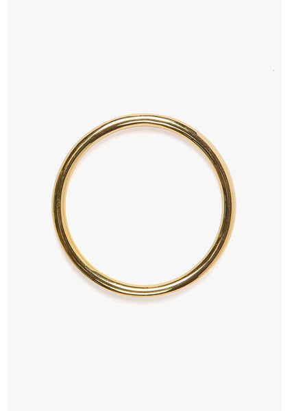 Flash Jewellery | Goldie Tube Bangle - 14k Gold Vermeil