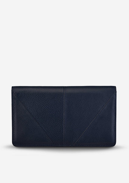 Status Anxiety | Triple Threat - Navy Blue