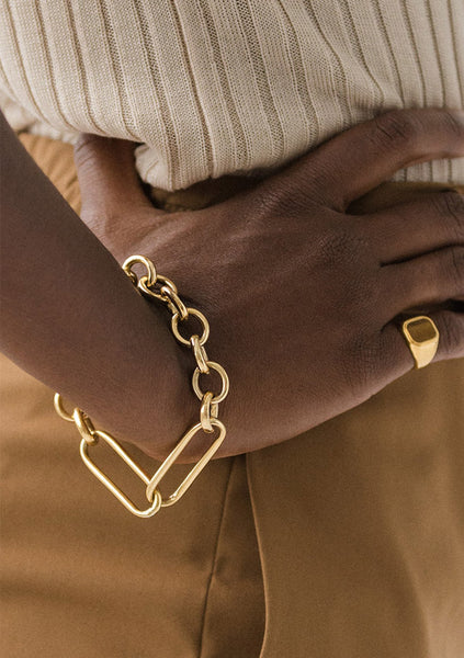 Flash Jewellery | Leisure Chain Bracelet - 14k Gold Vermeil