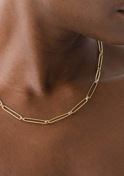 Flash Jewellery | Vermouth Chain Necklace - 14k Gold Vermeil