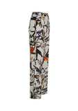 Gestuz | Greye Pants - Grey Flower Print